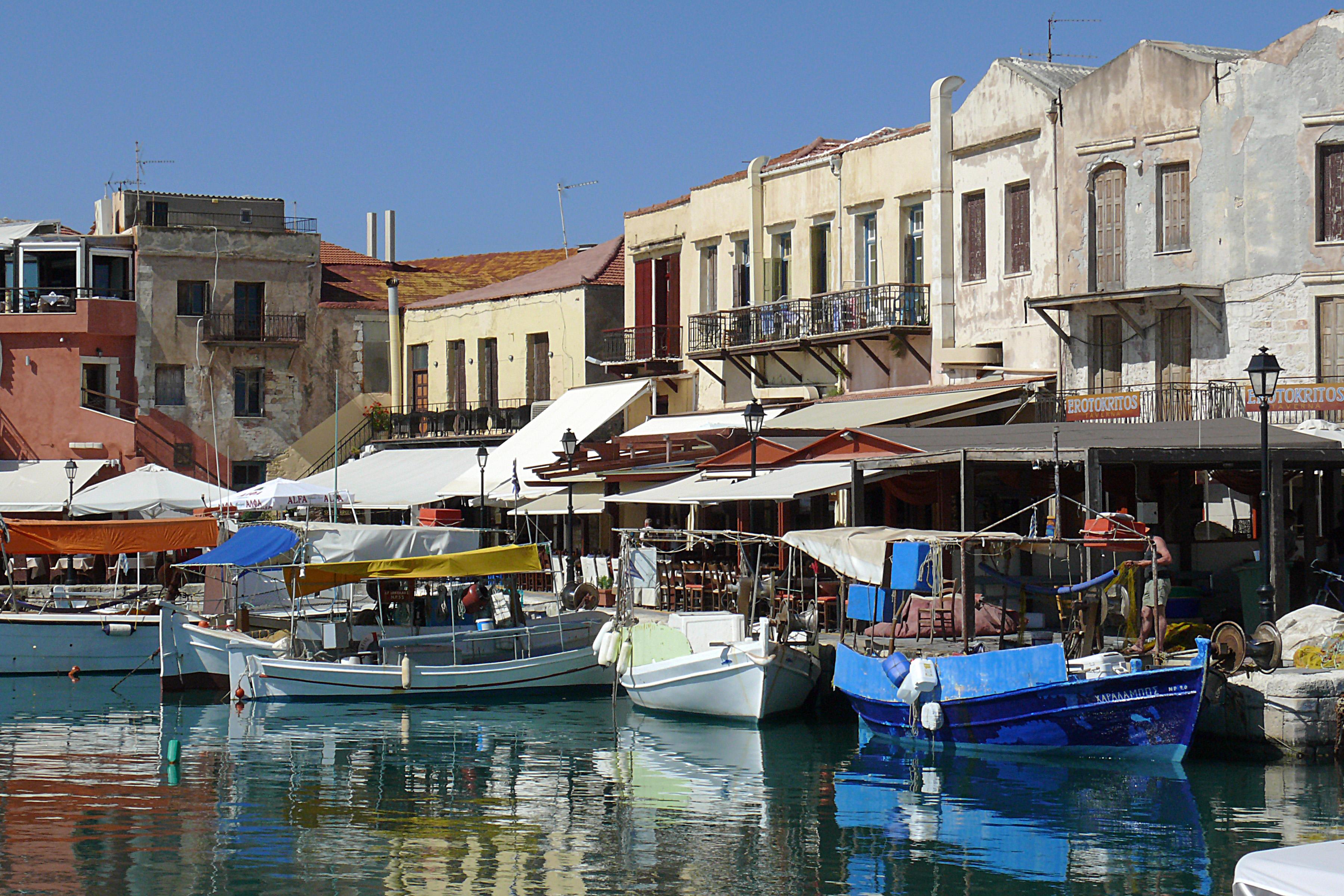 Rethymnon harbour – port Crete .jpg1 « Katerina Travel